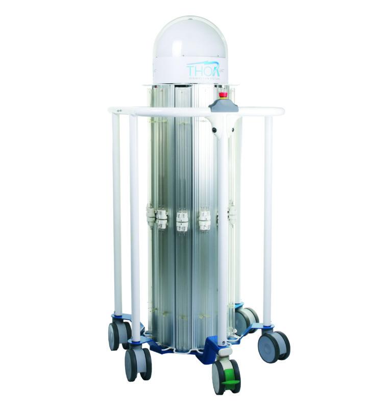 THOR UVC® - Unita in posizione di riposo (lampade spente)