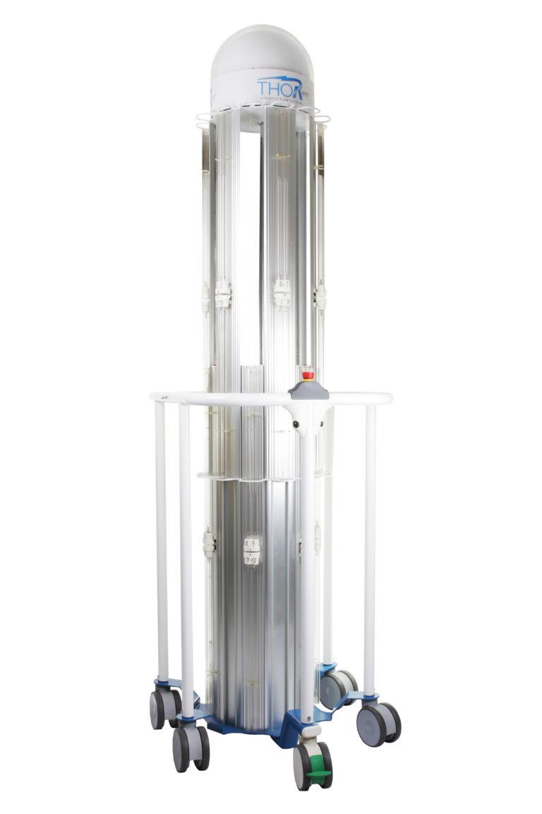 THOR UVC® - Unita colonna estesa (lampade spente)